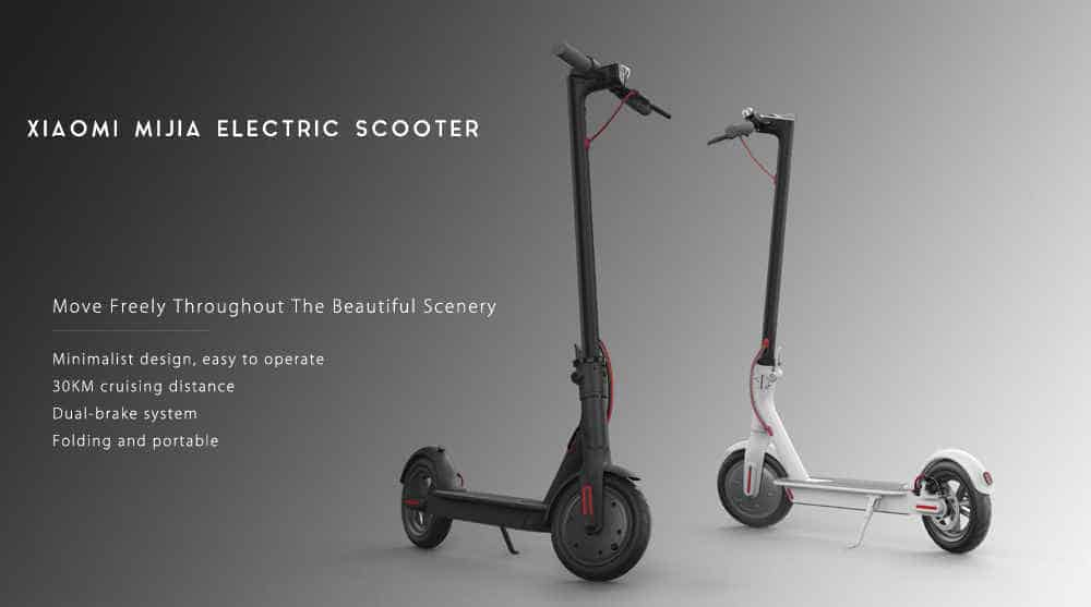 Oferta patinete eléctrico Xiaomi por 410 euros (Cupón descuento)