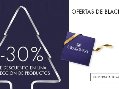 Ofertas de Black Friday en Swarovski