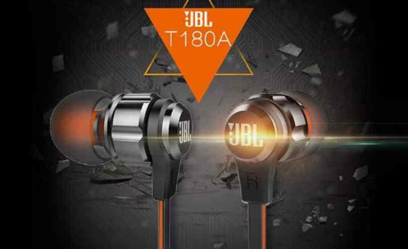 Chollazo auriculares JBL T180A por 19 euros (Cupón Descuento)