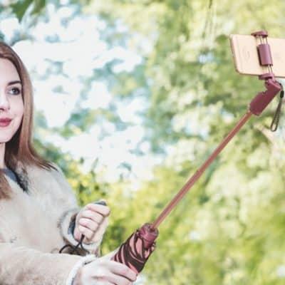 Oferta paraguas palo selfie por 13 euros (Cupón Descuento)