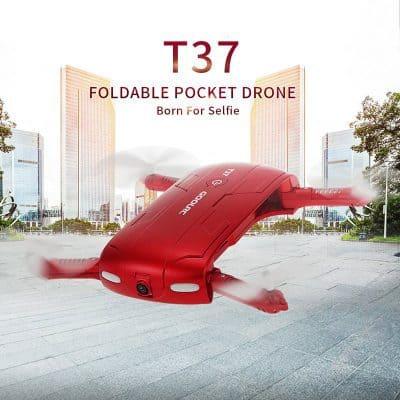 Chollo Dron Plegable FPV JJRC H37 ELFIE por 32 euros (Cupón Descuento)