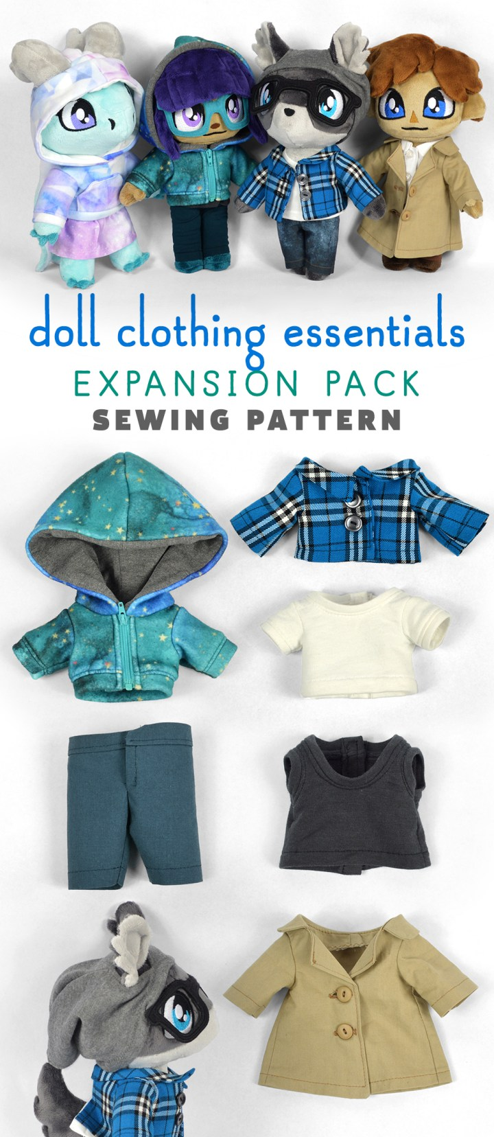 Doll Clothing Essentials Expansion Pack