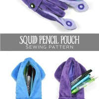 Free Pattern Friday! Squid Pencil Pouch