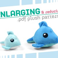 Tutorial: Enlarging and Reducing .pdf Plush Patterns
