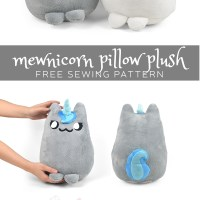 Free Pattern Friday! Mewnicorn Pillow Plush