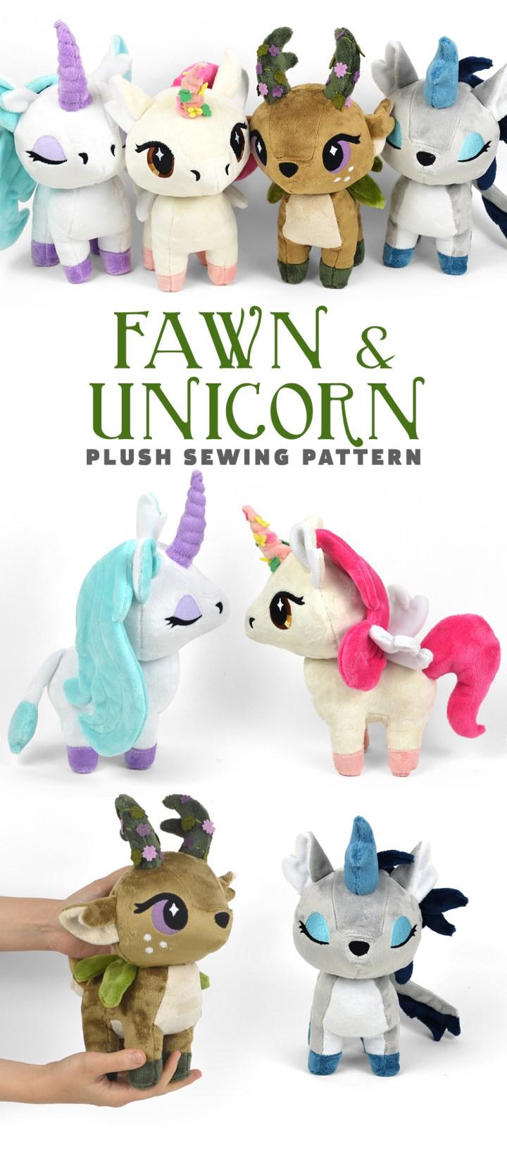 Unicorn Plush Pattern : unicorn, plush, pattern, Pattern!, Unicorn, Plush, Choly, Knight