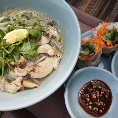 Pho and Summer Roll Set