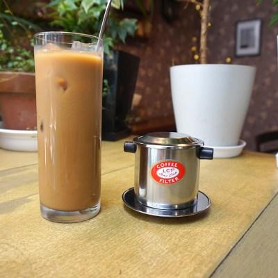 カフェ・スア・ダー (アイスベトナムコーヒー)