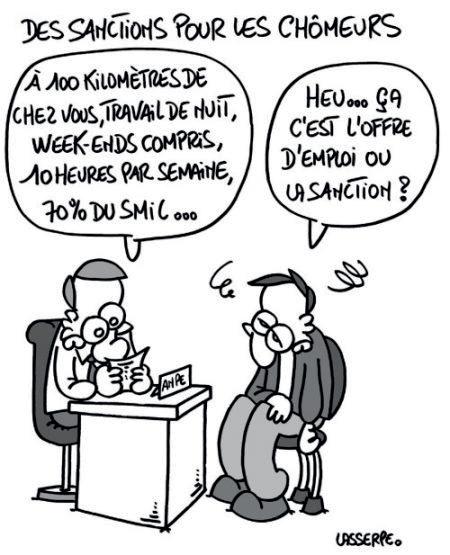 sanctions pôle-emploi