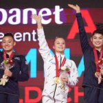 WGYM: Future Gators Win Three Medals at FIG World Championships