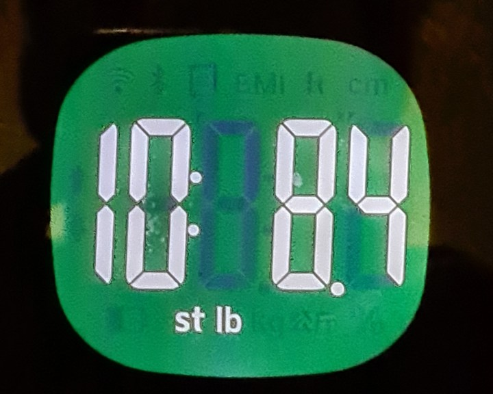 weigh in 23rd jan 2021