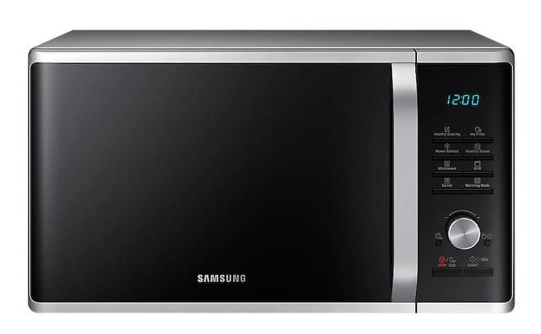 Lò Vi Sóng Tráng Men Nấu Tự Động Samsung MG28J5255US/SV