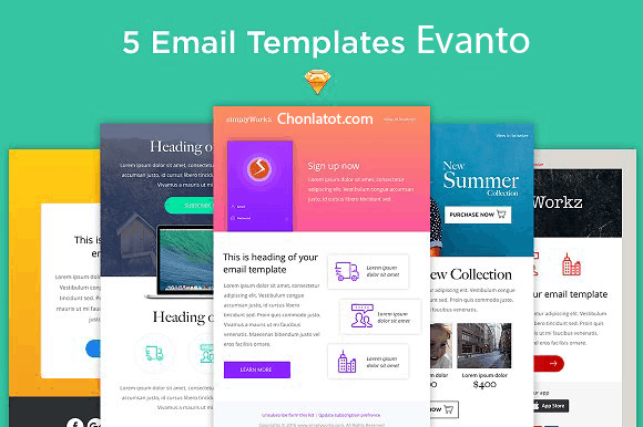 Mail Template Evanto
