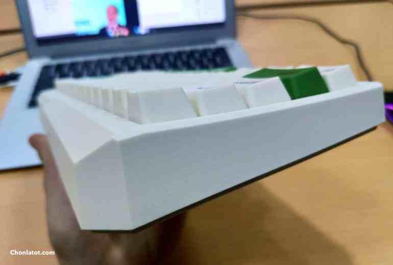 Hình ảnh Review bàn phím cơ Minila Air Matcha
