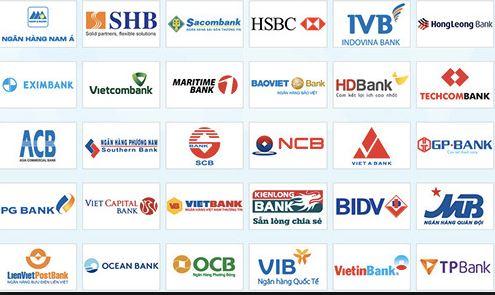 Danh sách ngân hàng tại VN