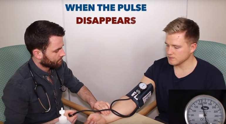 Đo huyết áp bước 2