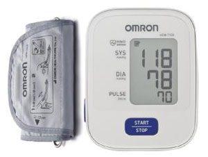 đánh giá máy đo huyết áp bắp tay omron hem 7120