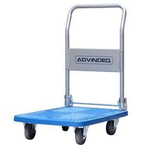 xe đẩy hàng 4 bánh sàn nhựa advindeq pt 150