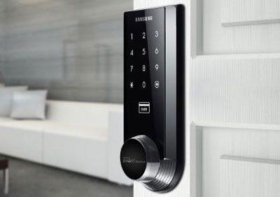 khóa cửa vân tay điện tử samsung