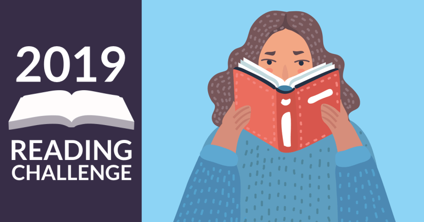 goodreads reading challenge pic for 2019