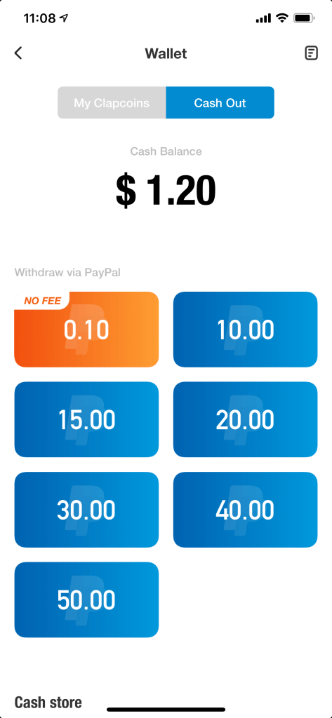 clipclaps payout?