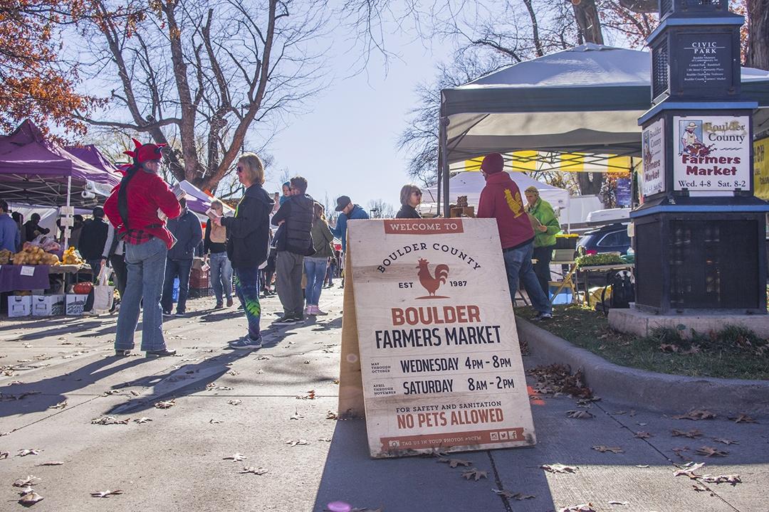 Farmers Market: Boulder, CO | 農夫市集: 波德,科羅拉多