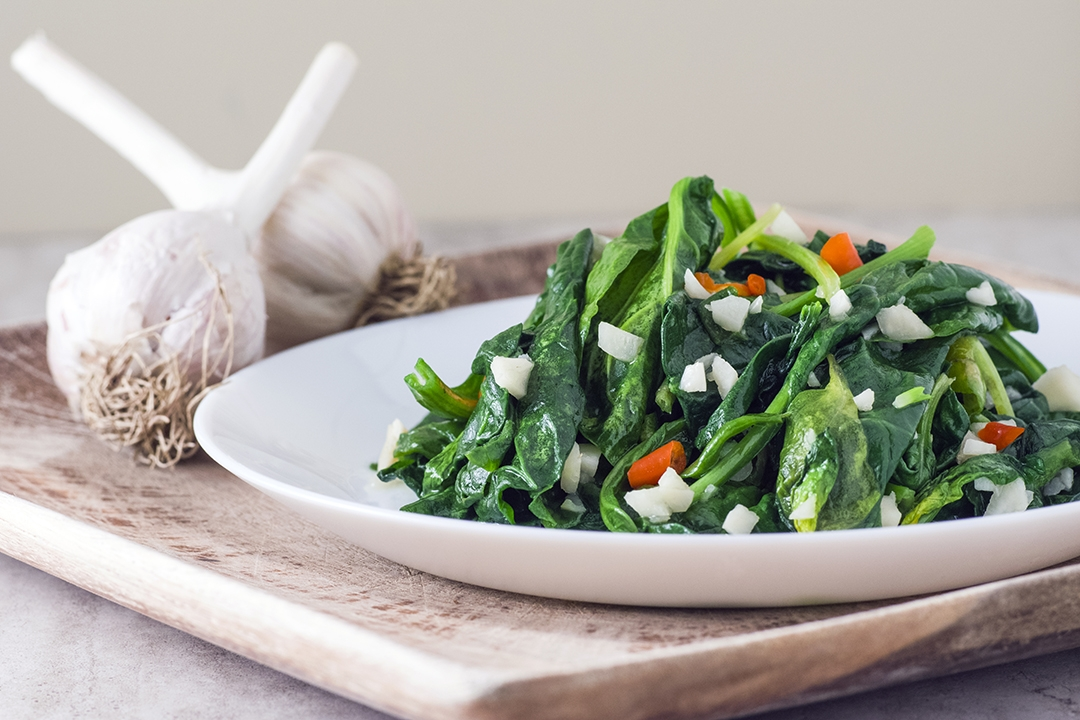 Spinach Stir-fry with Garlic | 蒜炒菠菜
