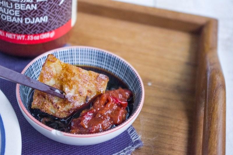 VEGETARIAN RADISH CAKE FROM SCRATCH | 自製米漿素食蘿蔔糕
