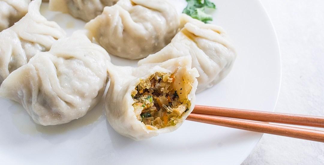 Mom's Special Vegan Dumplings | 家傳純素水餃