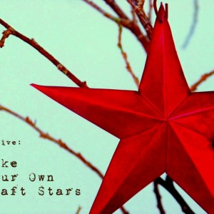 Make Your Own Tin Craft Stars … from a cake pan!