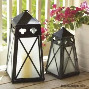 Quatrefoil Lanterns – Ballard Designs Knock Off