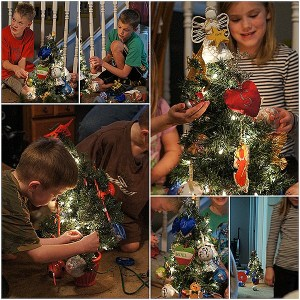 Christmas Tree Decorating – Gangnam Style