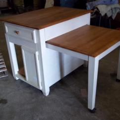 Kitchen Island Table Ideas Appliance Cart 5 With Pull Out