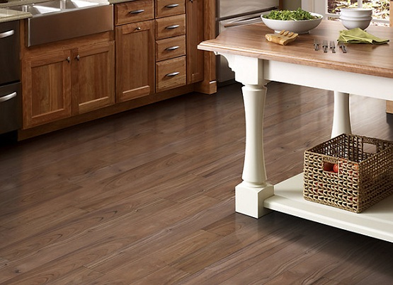 kitchen vinyl bar stools for flooring pros and cons choose outdoor kitchens