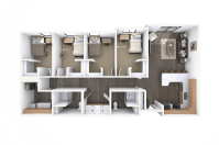 Student Housing Floor Plan Design