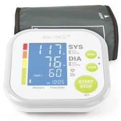 Balance Upper Arm Cuff Blood Pressure Monitor