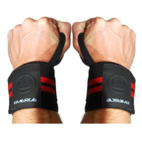 Emerge Fitness USA WRIST WRAPS BRACE SUPPORT LIFTING STRAP
