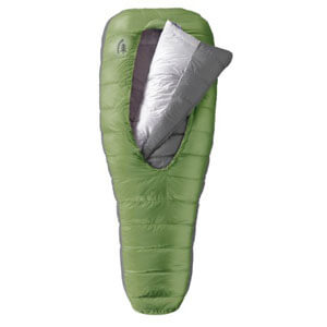 Sierra Designs DriDown Backcountry Bed 600-Fill 3 Season Sleeping Bag