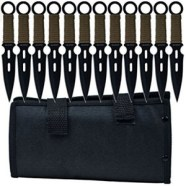 Whetstone Cutlery 12 Piece Set of S-Force Kunai Knives