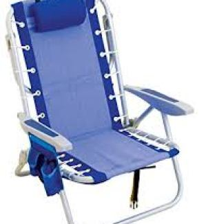 Rio Gear Ultimate Backpack Chair with Cooler