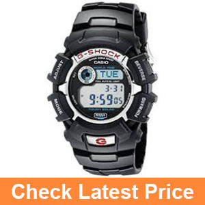 G-Shock G2310R-1 Men's Solar Black Resin Sport Watch