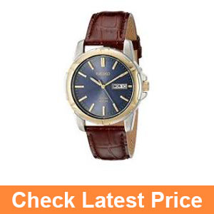 Seiko Men's SNE102 Stainless Steel Solar Watch