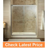 KOHLER K-702206-L-MX Fluence Frameless Bypass Shower Door