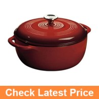 Lodge EC6D43 Enameled Cast Iron Dutch Oven
