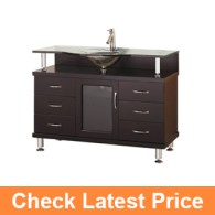 Virtu USA MS-48-G-ES Vincente 48-Inch Single Sink