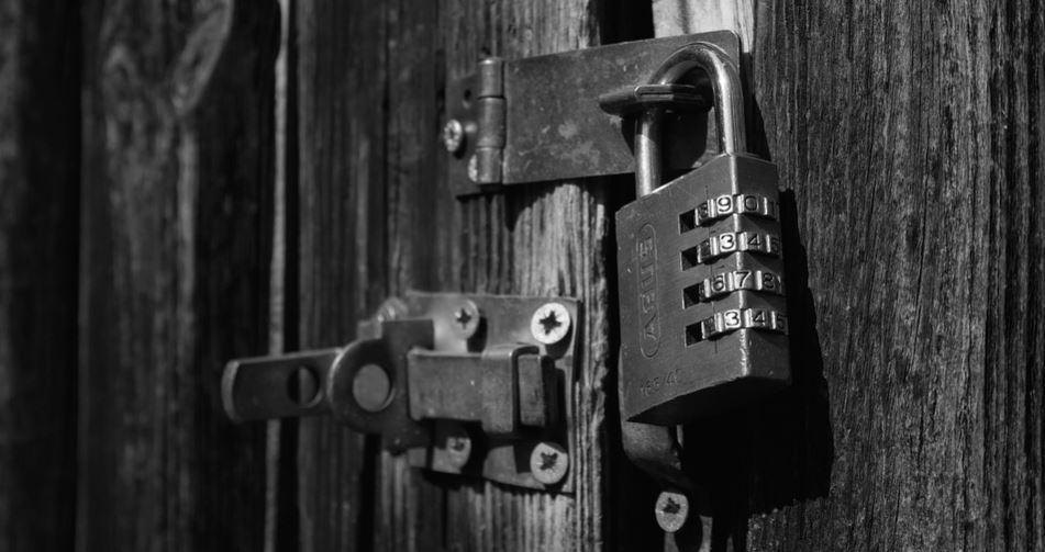 how to unlock 4 digit lock