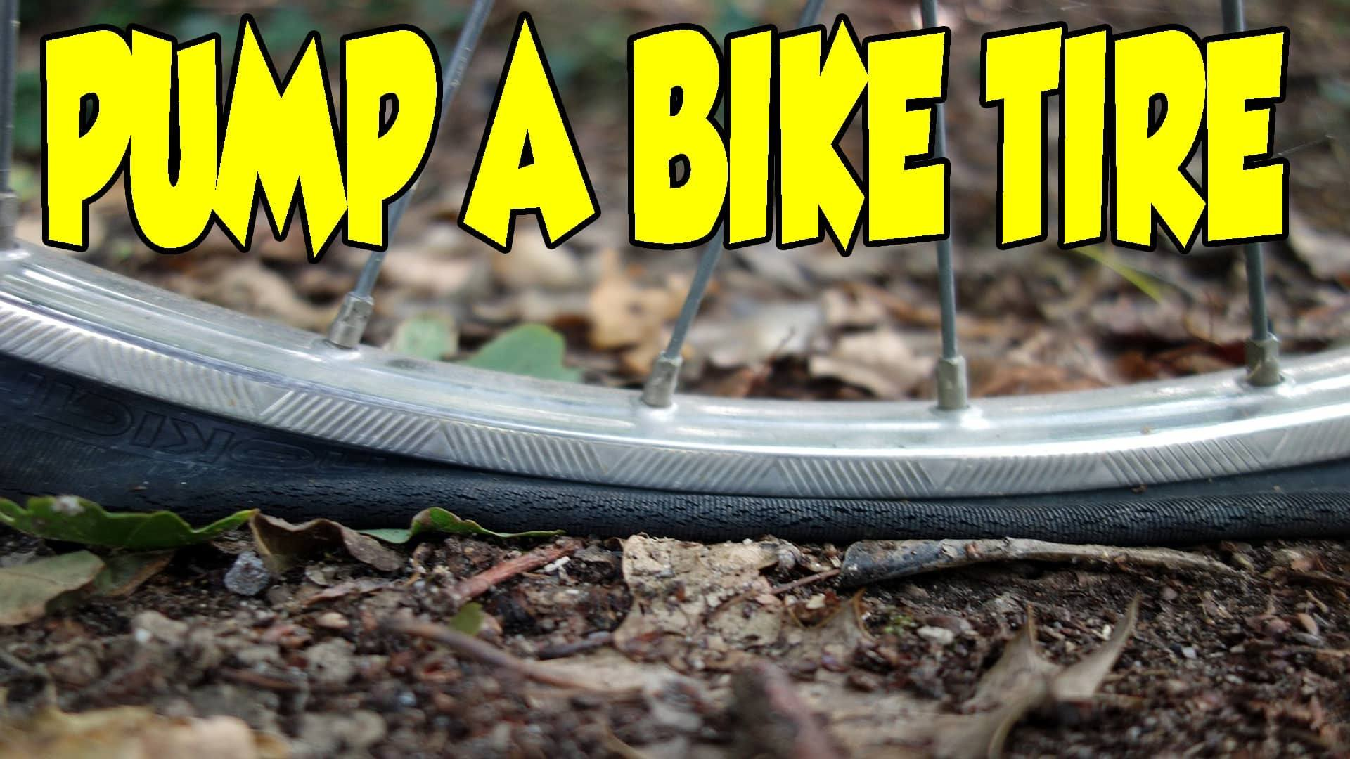 Step By Step Guide For How To Pump A Bike Tire In 2018