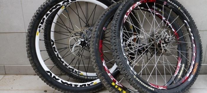 Wheels Of Mountain Bikes