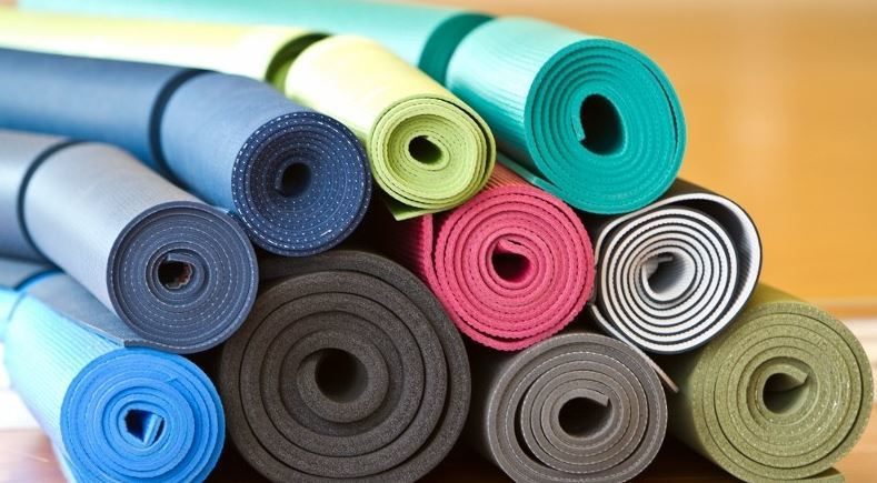 cleaning exercise mat