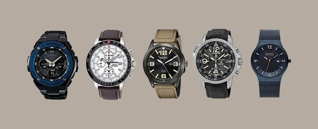 Solar Powered Watches'